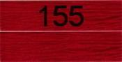 Нитки бытовые IDEAL 40/2 366м 100% п/э, цв.155 красный