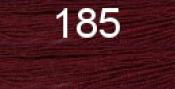 Нитки бытовые IDEAL 40/2 366м 100% п/э, цв.185 бордовый