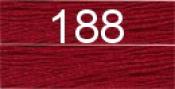 Нитки бытовые IDEAL 40/2 366м 100% п/э, цв.188 бордовый