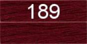 Нитки бытовые IDEAL 40/2 366м 100% п/э, цв.189 бордовый