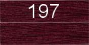 Нитки бытовые IDEAL 40/2 366м 100% п/э, цв.197 фиолетовый
