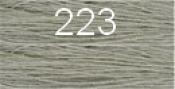 Нитки бытовые IDEAL 40/2 366м 100% п/э, цв.223 серый