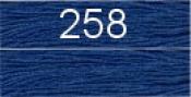 Нитки бытовые IDEAL 40/2 366м 100% п/э, цв.258 синий