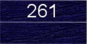 Нитки бытовые IDEAL 40/2 366м 100% п/э, цв.261 синий