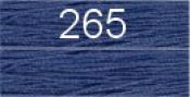 Нитки бытовые IDEAL 40/2 366м 100% п/э, цв.265 синий