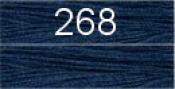 Нитки бытовые IDEAL 40/2 366м 100% п/э, цв.268 синий