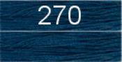 Нитки бытовые IDEAL 40/2 366м 100% п/э, цв.270 синий