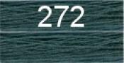 Нитки бытовые IDEAL 40/2 366м 100% п/э, цв.272 синий