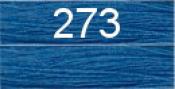 Нитки бытовые IDEAL 40/2 366м 100% п/э, цв.273 синий