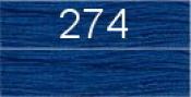 Нитки бытовые IDEAL 40/2 366м 100% п/э, цв.274 синий