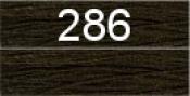 Нитки бытовые IDEAL 40/2 366м 100% п/э, цв.286 коричневый
