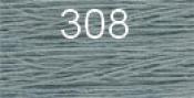 Нитки бытовые IDEAL 40/2 366м 100% п/э, цв.308 голубой
