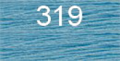 Нитки бытовые IDEAL 40/2 366м 100% п/э, цв.319 голубой
