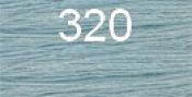 Нитки бытовые IDEAL 40/2 366м 100% п/э, цв.320 голубой