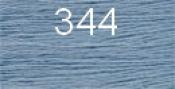 Нитки бытовые IDEAL 40/2 366м 100% п/э, цв.344 голубой