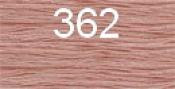 Нитки бытовые IDEAL 40/2 366м 100% п/э, цв.362 пудровый