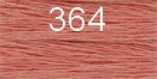 Нитки бытовые IDEAL 40/2 366м 100% п/э, цв.364 пудровый
