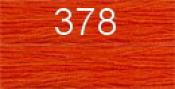Нитки бытовые IDEAL 40/2 366м 100% п/э, цв.378 рыжий