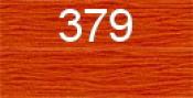 Нитки бытовые IDEAL 40/2 366м 100% п/э, цв.379 рыжий