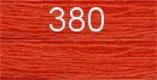 Нитки бытовые IDEAL 40/2 366м 100% п/э, цв.380 рыжий