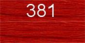 Нитки бытовые IDEAL 40/2 366м 100% п/э, цв.381 рыжий