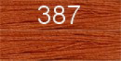 Нитки бытовые IDEAL 40/2 366м 100% п/э, цв.387 рыжий
