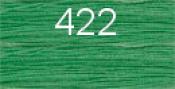 Нитки бытовые IDEAL 40/2 366м 100% п/э, цв.422 св.зеленый