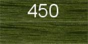 Нитки бытовые IDEAL 40/2 366м 100% п/э, цв.450 зеленый