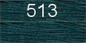 Нитки бытовые IDEAL 40/2 366м 100% п/э, цв.513 зеленый
