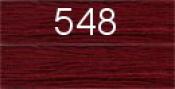 Нитки бытовые IDEAL 40/2 366м 100% п/э, цв.548 бордовый