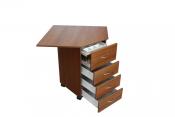 Стол для швейной машины и оверлока Комфорт 6