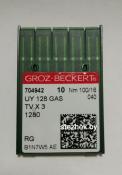 Игла Groz-Beckert UY 128 GAS  №100